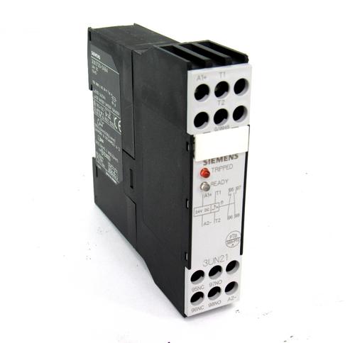 Siemens 3UN2100-0AB4 Thermistor Relay, 24V DC
