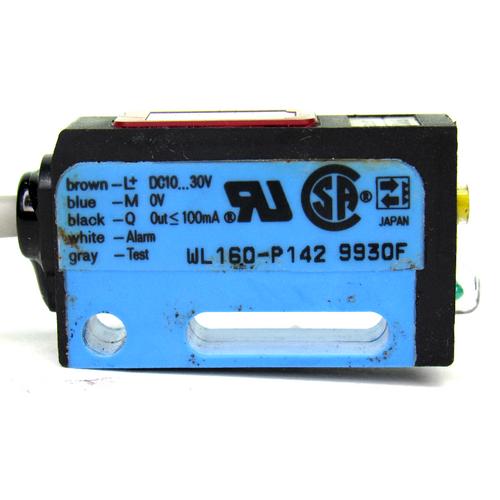 Sick WL160-P142 Optex Photoelectric Sensor, 10~30V DC, <100mA, 0-3M Sensing Range