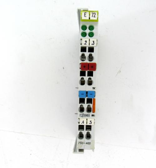 Wago 750-402 Input Module, 4 Point Digital, 24V DC
