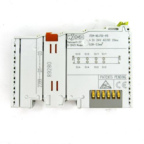 Wago 750-415 Digital Input Module, 24V AC/DC, 20ms