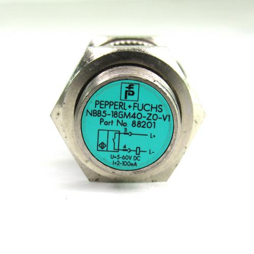 Pepperl+Fuchs NBB5-18GM40-Z0-V1 Inductive Proximity Sensor, 5-60V DC, 100mA
