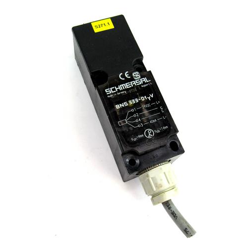Schmersal BNS 333-01YV Safety Switch Magnetic Sensor, 24V DC, 40mA