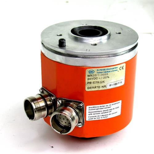 Siko WK02/1-0033 Angle Encoder, 24V DC+/-20%