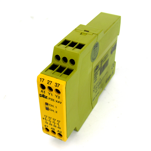 Pilz PZE X4V 2/24VDC 4S Safety Relay, 24V DC, 2W, 5 Amp