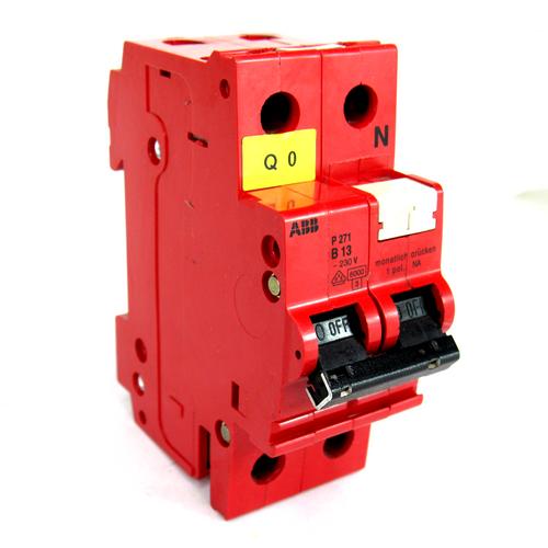 ABB P271 B13 Circuit Breaker, 2-Pole, 230V