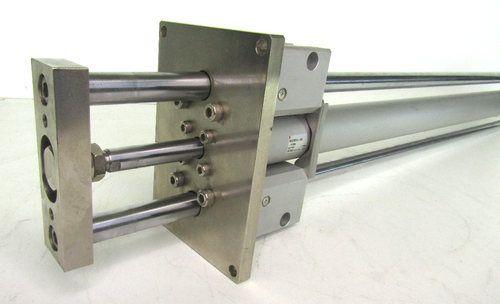SMC MGCMF40-700-H7BW Guided Cylinder, Slide Bearing, 40mm Bore, 700mm Stroke 1.0MPa