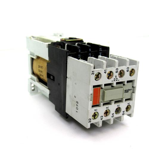 Sprecher+Schuh CA 3-9C + CT3(K)-12 Contactor, 20 Amp, 600V w/ CA3-P Contact Block