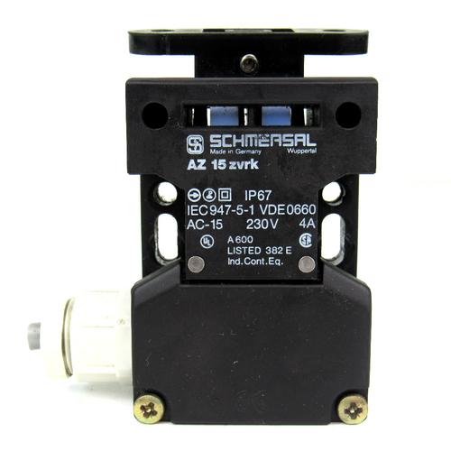 Schmersal AZ 15 ZVRK Safety Interlock Switch, 230V, 4 Amp, IP67