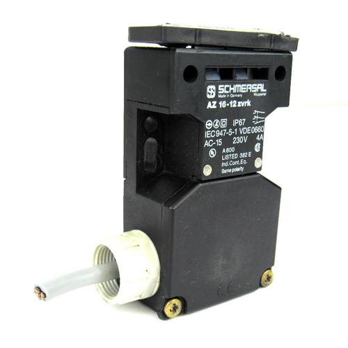 Schmersal AZ16-12ZVRK Safety Interlock Switch, 230 V, 4 Amp