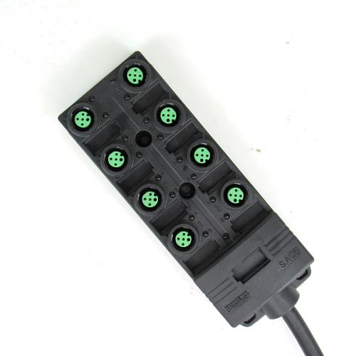 Phoenix Contact SACB-8/8-L-10,0PUR SCO P Sensor/Actuator Box, 24V DC, 8-Port