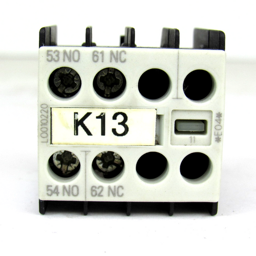 Siemens 3RH1911-1FA11 Auxiliary Switch Block, 10 Amp, 240V, 690V