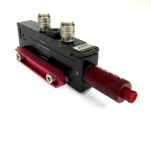 "Piab P3010.00.AA.02.AA.00 Vacuum Pump w/ COAX Cartridge Module, C3x1/8"""