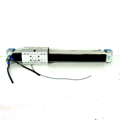 Festo DGPL-32-300-PPVA-KFB Pneumatic Linear Actuator, 32mm Piston Dia., 300mm Stroke, 8 Bar, 120 PSI