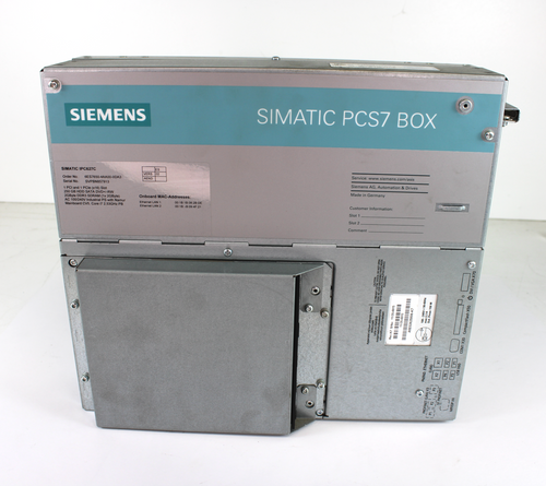 Siemens Simatic IPC627C Process Control System PCS7 Box 6ES7650-4AA00-0DA3