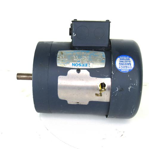 Leeson M6C17FC1F Electric Motor, 1725 RPM, 60Hz, 115W, 208-230V, 1/2HP, 1-Phase