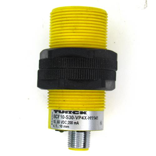 Turck BCF10-S30-VP4X-H1141 Capacitive Sensor, 10~65V DC, 200mA