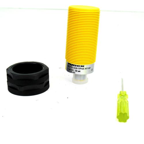 Turck BCF10-S30-VP4X-H1141 Capacitive Sensor, 10~65V DC, 200mA, 4-Wire