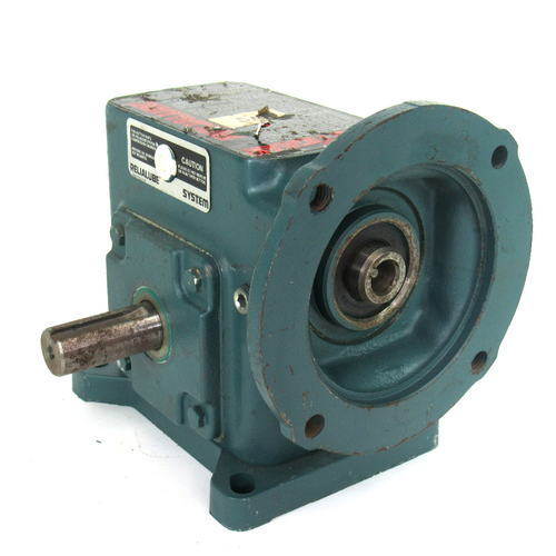 Dodge Tigear MR94766 C WW Right Angle Worm Speed Reducer, Size-Ratio: 56/200-60, .40 HP, 1750 RPM, Output Torque: 496