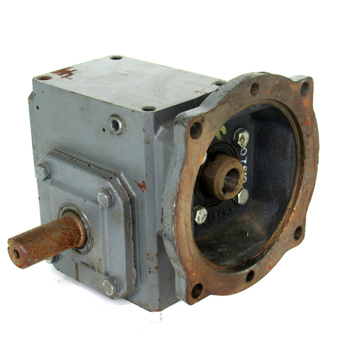 Browning 175Q56LR10 Single Reduction Gear Reducer, 10:1 Ratio, 1750 RPM, 429 IN/LB Torque, 1.32 HP