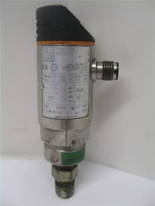 Ifm PN7222 Pressure Switch