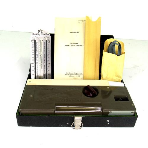 Bendix Friez 566-2 Psychrometer, Humidity Meter