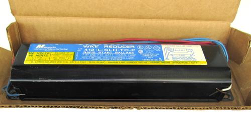 MagneTek 412-L-SLH-TC-P Rapid Start Ballast, 120V, 60 Hz
