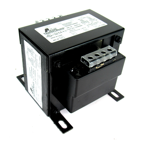 Acme Transformer CE060500 Industrial Control Transformer, 500V A, 50/60Hz, 220/440 Primary Volts, 1-Phase
