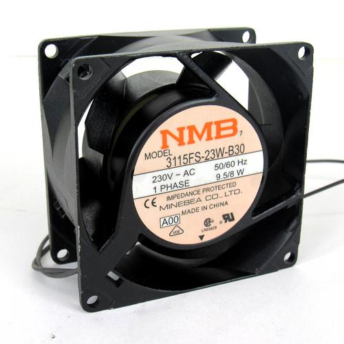 Minebea 3115FS-23W-B30 AC Axial Fan, 230V AC, 50/60Hz, 1-Phase, 9.5/8W