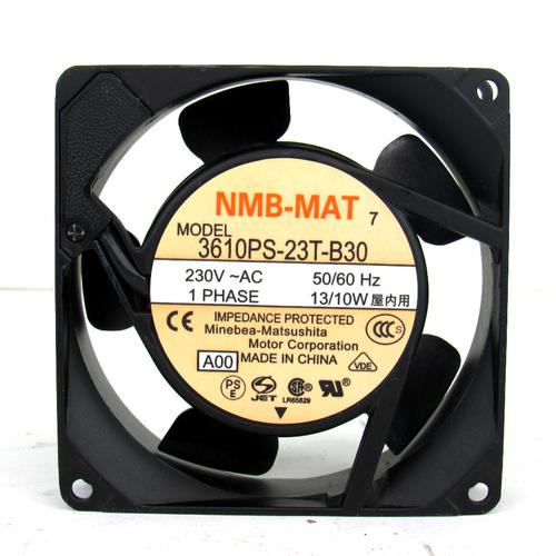 Minebea-Matsushita 3610PS-23T-B30 AC Axial Fan, 230V AC, 1-Phase, 50/60Hz, 13/10W