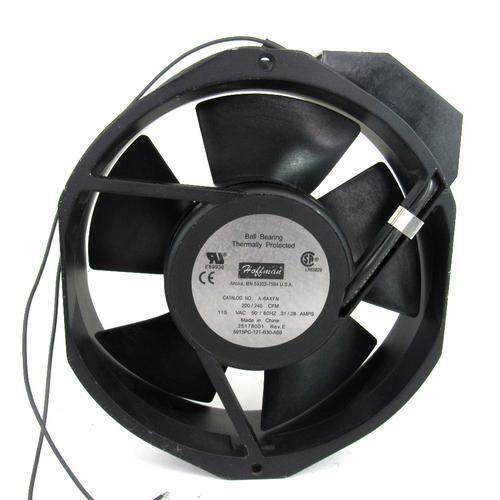 Hoffman A-6AXFN AC Fan, 200/240 CFM, 115VAC, 50/60Hz, 0.31/0.28 Amp