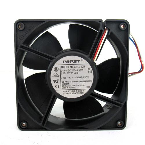 Papst 3HAC6658-1 DC Cooling Fan, 24V DC, 220mA, 5.3W