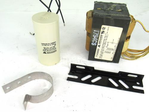 Advance 71A3572-001D Core & Coil Ballast Kit, 1-250W, H37 Mercury 120-277V, 60Hz