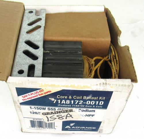 Advance 71A8172-001D Core & Coil Ballast Kit, 1-150W, S55 (55V) HP Sodium, 120-277V, 60Hz HX-HPF