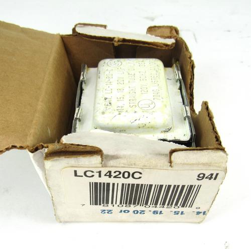 Advance LC-14-20-C Preheat Ballast, 120V, 60Hz, 36 Amp
