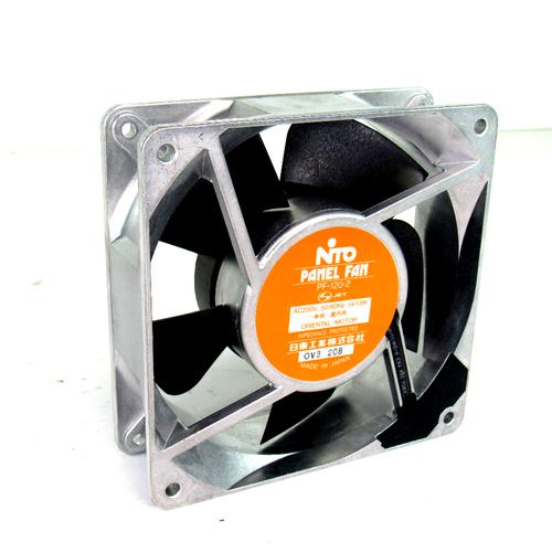 Oriental Motor PF-120-2 AC Panel Fan, 200V AC, 50/60Hz, 14/13W