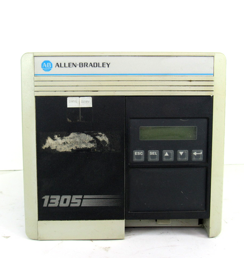 Allen Bradley 1305-AA12A Ser. C AC Drive, Input: 200-240V AC, 11.6 Amp, 50/60Hz, 4600VA, Output:200-230V, 12 A, 0-400Hz, Motor:2.2kW/3HP