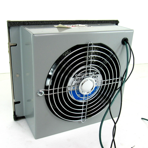 Hammond Manufacturing XF6115 Fan Box with Filter, 115V AC, 50/60Hz, 48/46W, NEW