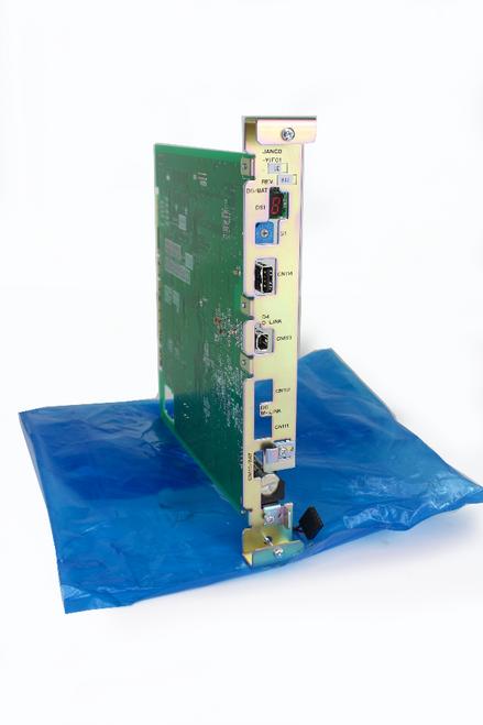 Yaskawa Electric JANCD-YIF01-1E Robot I/F Printed Circuit Board with Status Indicator Light, NEW