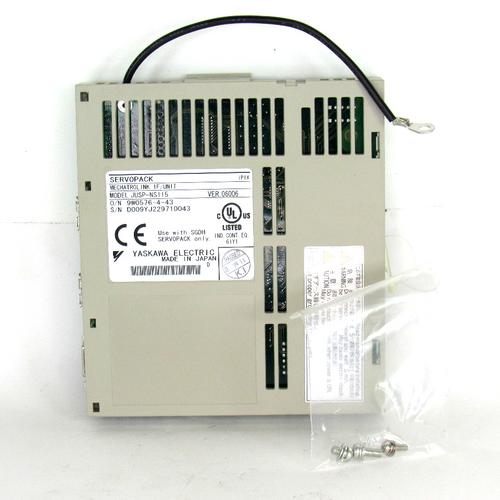 Yaskawa Electric JUSP-NS115 ServoPack, IP1X, Mechatrolink Interface, NEW