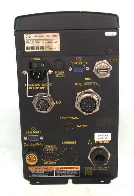 Stanley Assembly Technologies 21A108726/QA1001-XDV Controller 115/230Vac