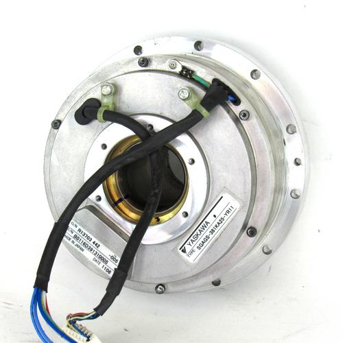 Yaskawa Electric SGAGS-381KA25-YR11 AC Servo Motor, Used