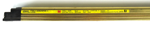 """Omron F3SJ-A0620P25-L Safety Light Curtain Emitter, 24.40"""""""
