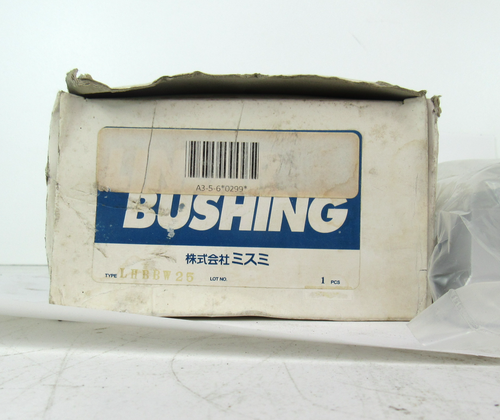 Misumi LHBBW25 Linear Bushing A3-5-6 *0299*, NEW