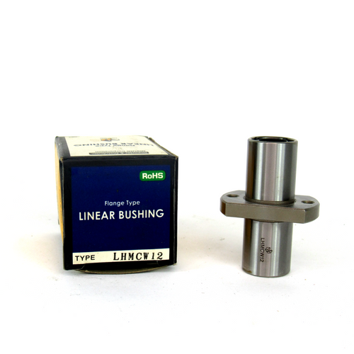 Misumi LHMCW12 Flanged Linear Bushing, Center Flanged Double, NEW