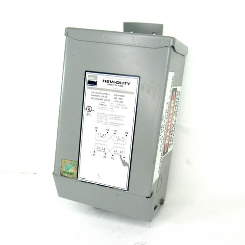 EGS Sola HS1F500B Hevi-Duty Transformer, 240/480V, 60 Hz