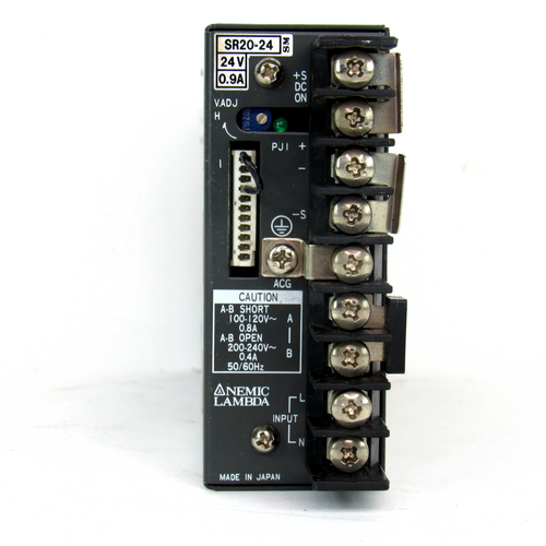 Nemic Lambda SR20-24 Power Supply, 24V, 0.9 A, USED