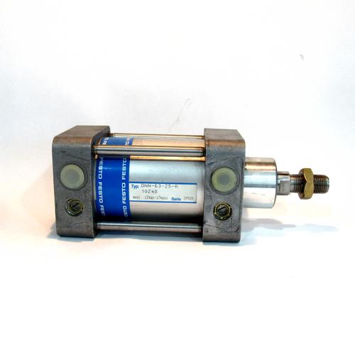 Festo DNN-63-25-A Pneumatic Tie Rod Cylinder, 63mm Bore, 25mm Stroke