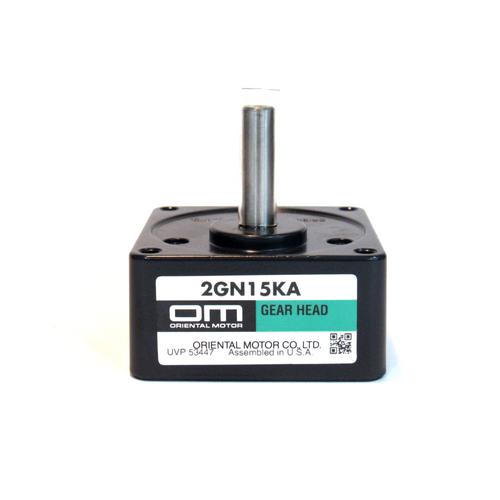 Oriental Motor 2GN15KA Parallel Shaft Gear Head, 15:1, NEW