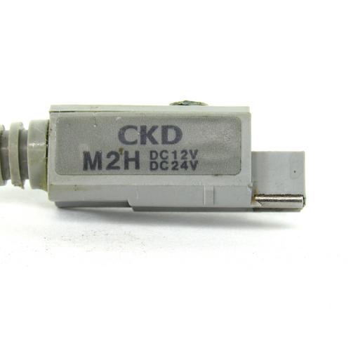 CKD M2H Reed Switch Cylinder Sensor, 12/24V DC, USED