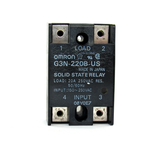 Omron G3N-220B-US Solid State Relay, 250V AC